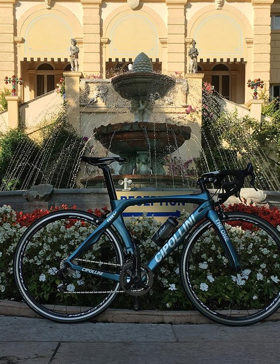 Italian bike, very Italian launch