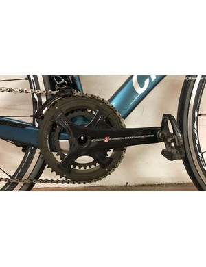 I would've preferred a 52/36t crankset instead of this compact 50/34t