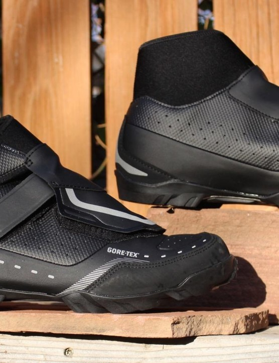 Not road shoes... until the conditions are really nasty, and then they are better than road shoes with booties
