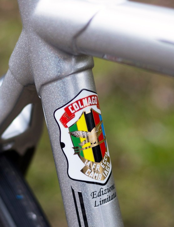 …and on the seat tube