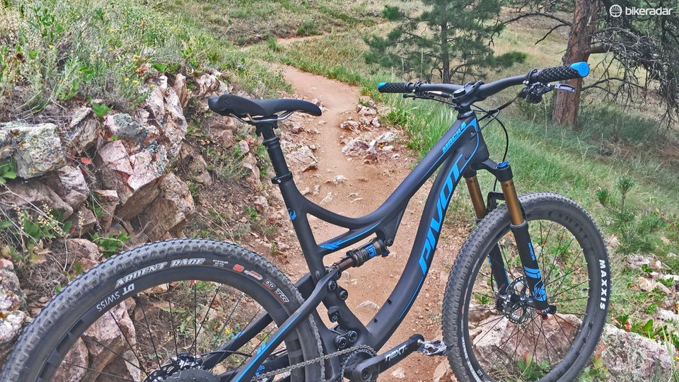 4ecff1e3e8f Pivot Mach 4 Carbon first ride review - BikeRadar