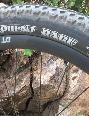 27.5 x 2.35in Ardent Race tires are nod to fun over all-out speed