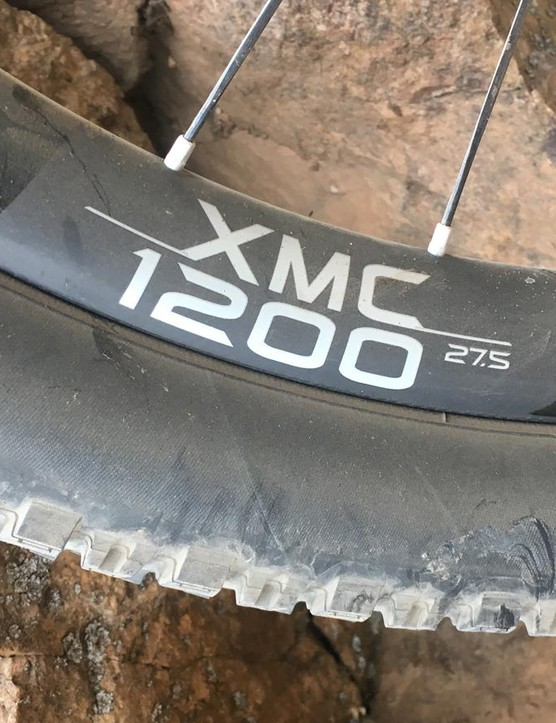 These carbon DT Swiss XMC 1200 are stiff, light, and not cheap