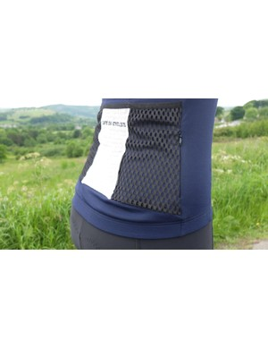 Three large pockets at the rear provide ample storage space, plus there's one additional zipped pocket at the side