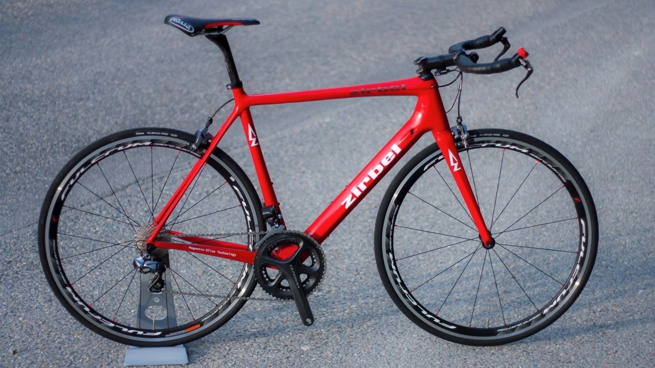 Complete weight of the Zirbel Velocity Racer? A cool 6.7kg, without pedals