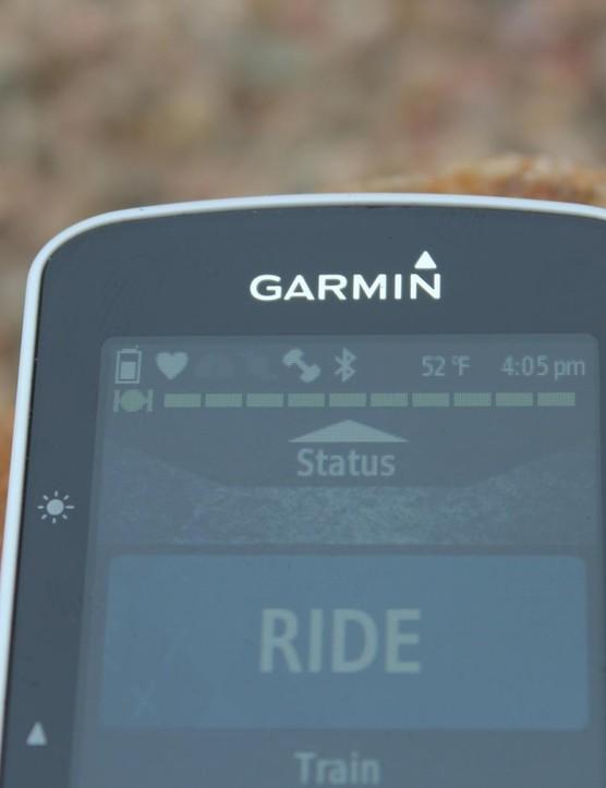 Garmin's new Edge 520 works on GPS/Glonass, ANT+ and Bluetooth
