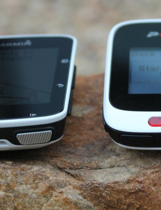 Both units rely on buttons for operation instead of touchscreens