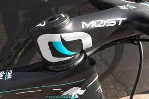Froome has lowered his handlebars for the 2018 season