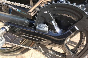 Stages provides Chris Froome's bike with a dual-sided power meter
