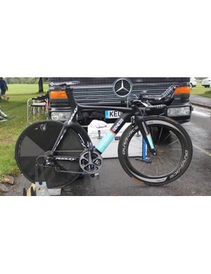 Team Madison Genesis use Ridley Dean TT bikes