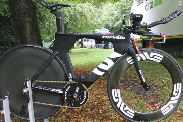Steve Cummings' Cervelo P5