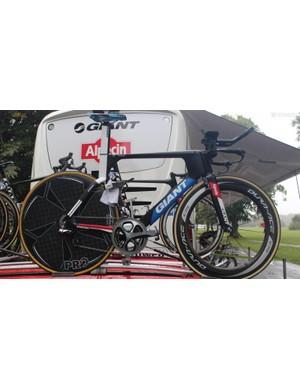 Tom Dumoulin's spare TT bike