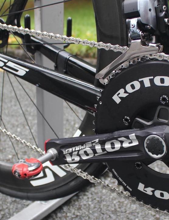 ROTOR NoQ rings and ENVE SES wheels