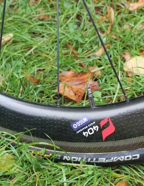 Zipp 404 wheels for Wiggo