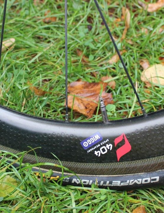Zipp 404 wheels for Wiggo