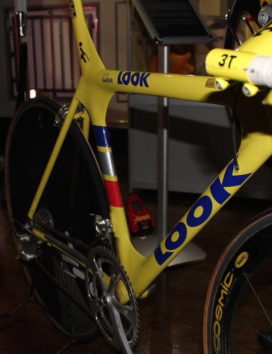ONCE Team Look time trial bike