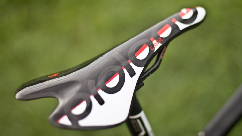 Some riders can handle bare carbon saddles