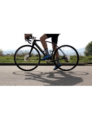 This silhouette could well be symbolic of the future of road cycling