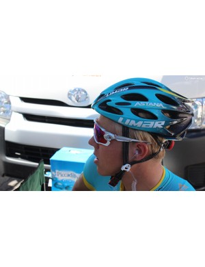 Michael Valgren opts for Oakley Jawbreakers with his Limar helmet