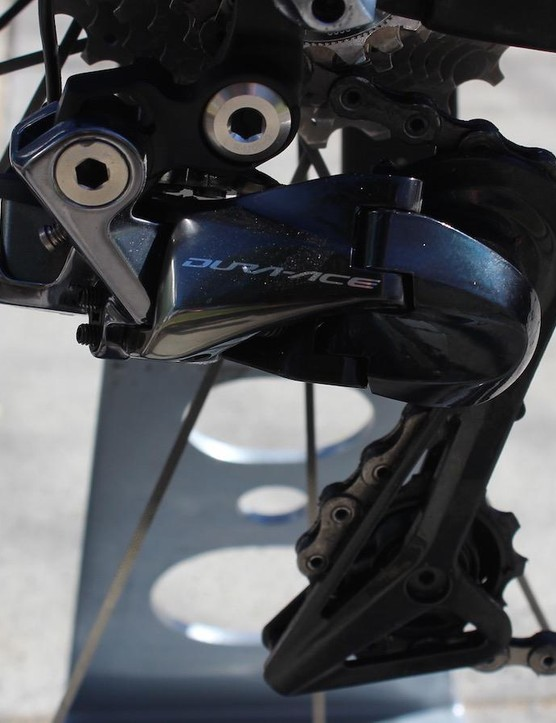 A closer look at the new derailleur