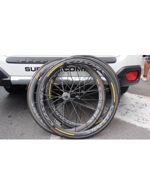 Spare wheels for AG2R La Mondiale