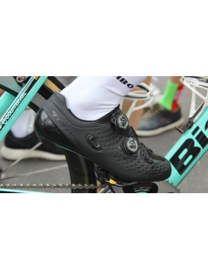 A closer look at the Shimano S-Phyre shoe