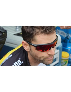 LottoNL-Jumbo is kitted out with Shimano eyewear