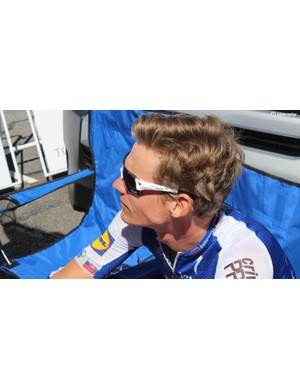 Quick-Step riders are supplied with Ekoi eyewear