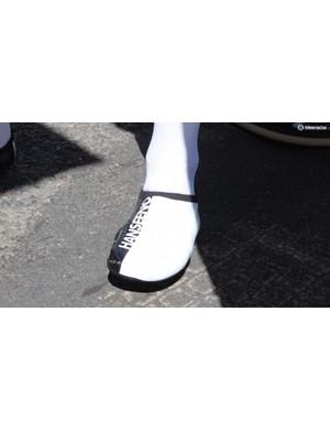 Adam Hansen's custom shoes