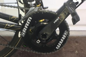 A look at the 53/39 SRAM Red crankset with Quarq power meter