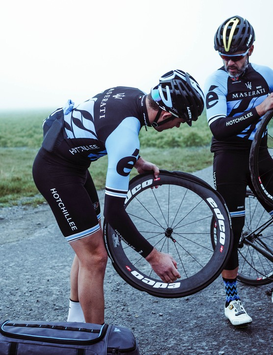 Punctures are almost an inevitable part of riding Paris-Roubaix