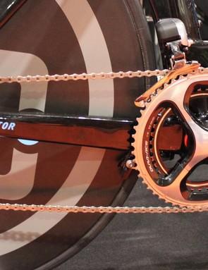 AG2R La Mondiale will run the bike with Shimano Dura-Ace gearing