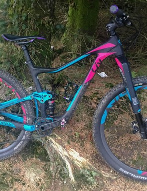 The Liv Pique is a lightweight XC race bike designed for speed and efficiency
