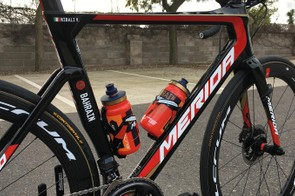 Nibali is one of four Bahrain-Merida riders who can opt out of riding disc brakes — should they wish — this season