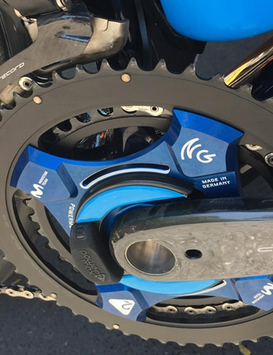 Movistar uses this good-looking Power2Max power meter