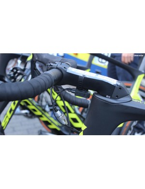 Luke Durbridge had a 150mm stem on his Scott Foil RC