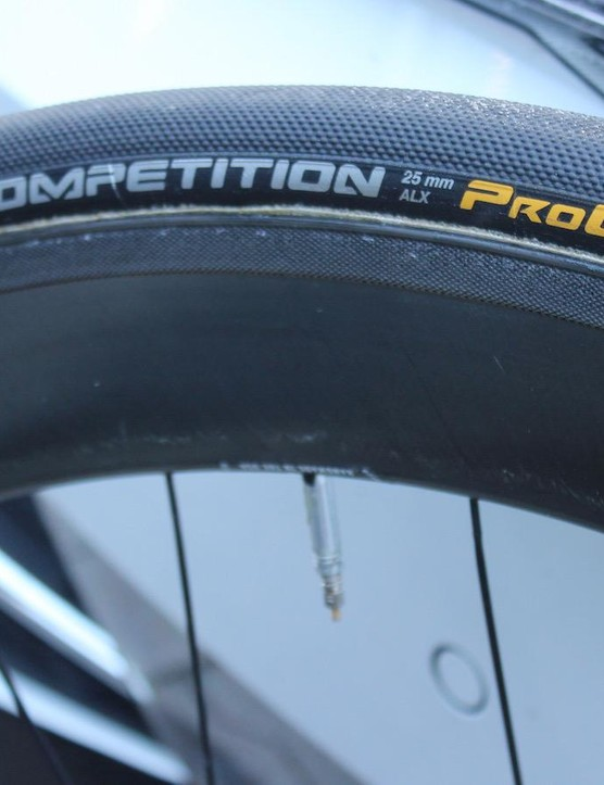 Boasson-Hagen opts for Continental Competition ALX 25mm tubular tyres