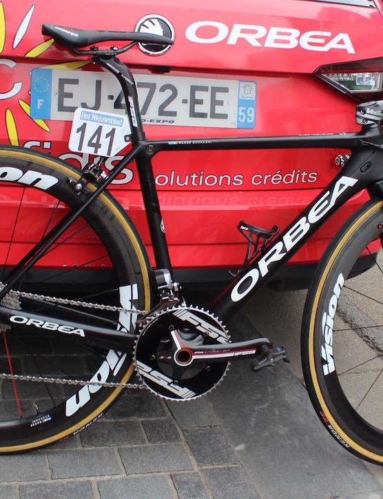 Nacer Bouhanni's Orbea Orca
