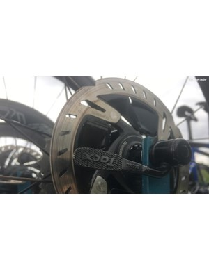 Shimano Dura-Ace R9100 rotors are more aerodynamic than some earlier disc rotors