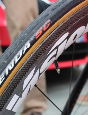 The Kenda SC tubular tyres are not available commercially