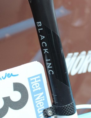 Black Inc is Factor's component brand and provides the finishing kit for the team's bikes