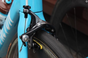The Shimano Dura-Ace 9000 series front brake