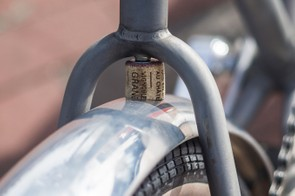 Perfect use for old corks — we might be fitting a lot of mudguards though
