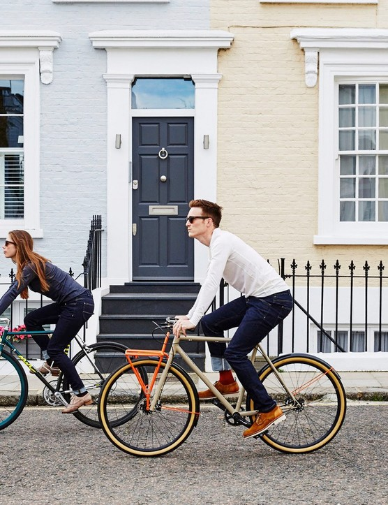 The Vulpine Urban Cycling jeans come in men's and women's versions, and look great