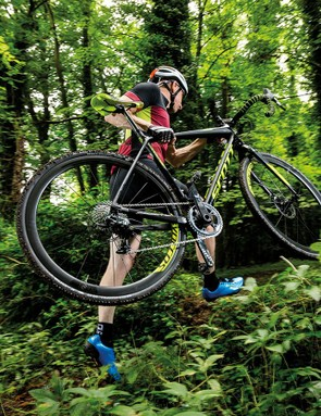 Continue to work on fitness with a foray into the wood for cyclocross season