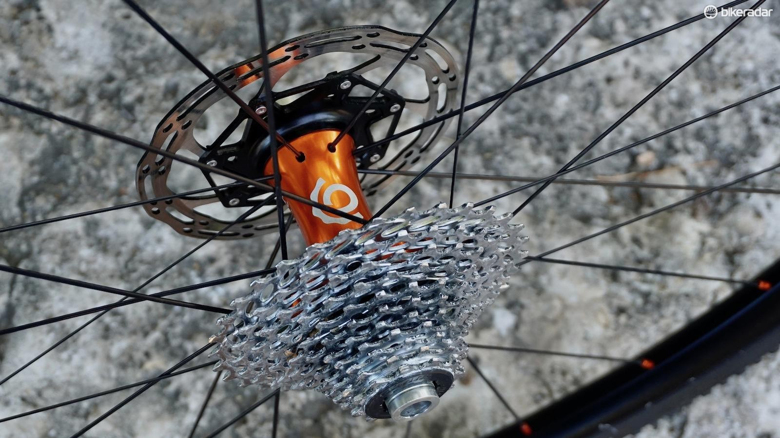 The ULCX comes in practically every possible spacing and driver combination — 11spd Shimano, 142x12mm seen here