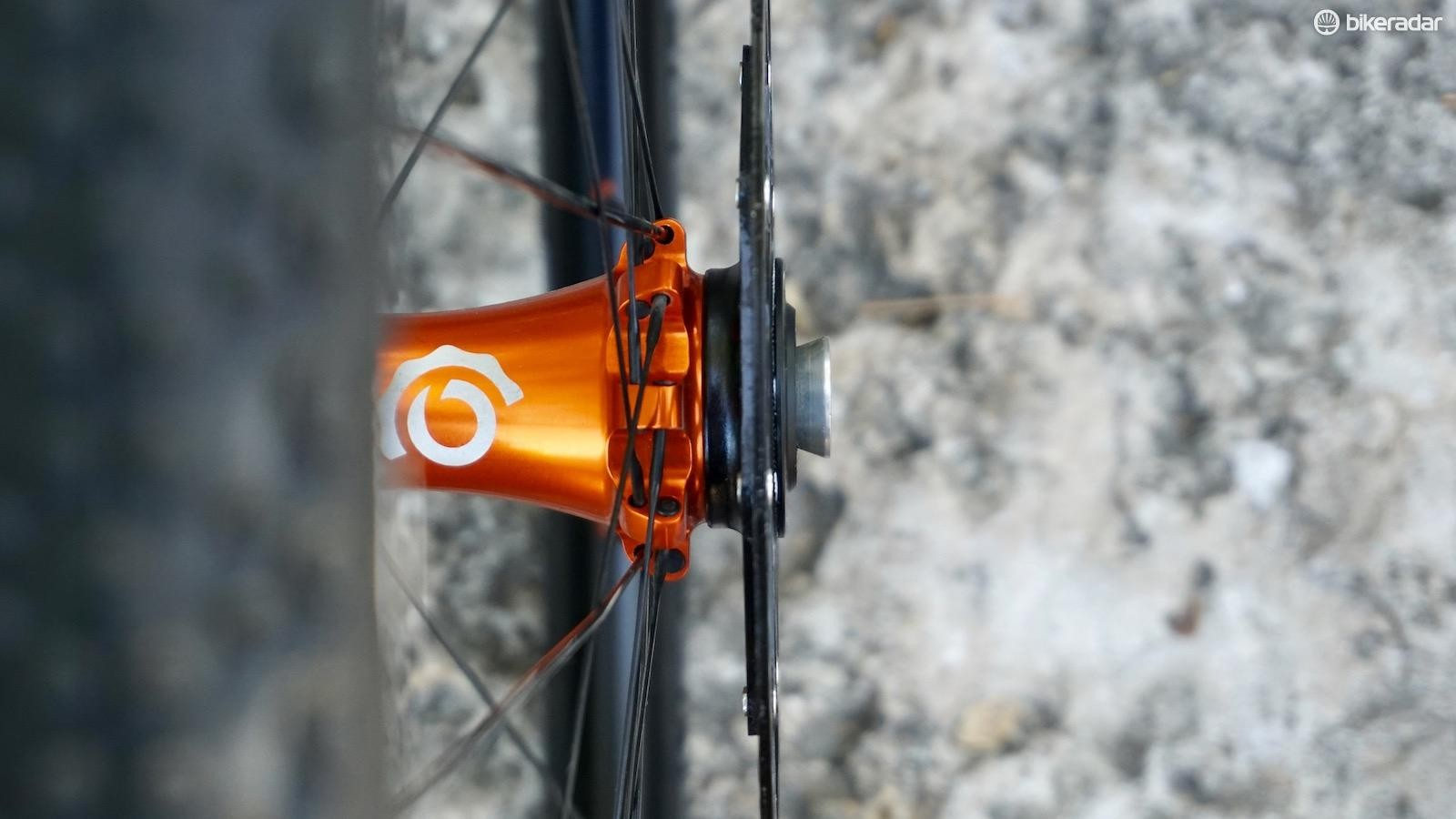 Centerlock seen here, but 6-bolt is also an option on the ULCX (and other I9 wheels)