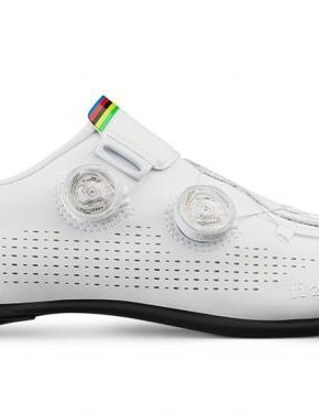 Fizik's custom Infinito R1 Iride shoes for world champion Alejandro Valverde