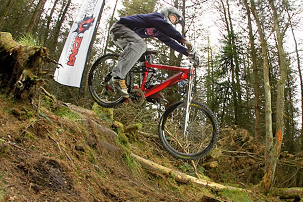 Round two of the Alpine Bikes Winter Series