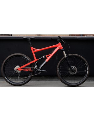 The Bossnut V2 frame is slightly longer at the top tube than the first Bossnut